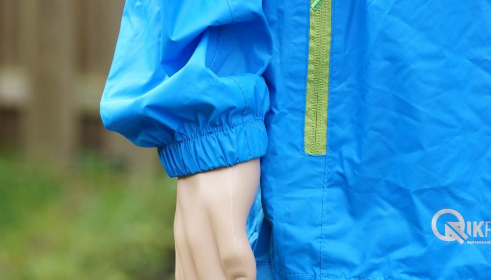 Gummizug Bündchen Regenjacke