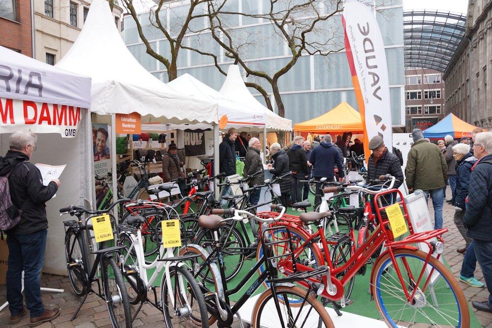 Aussteller beim Hallo Fahrrad in Oldenburg