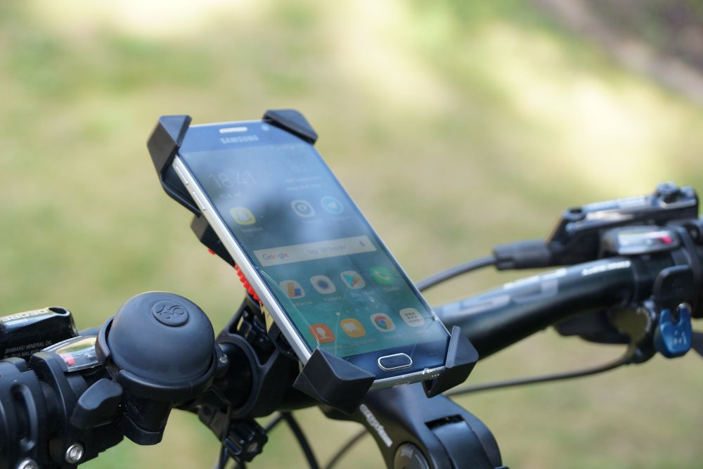 Phone Holder PB03 Test Anti-Shake Fahrradhalterung