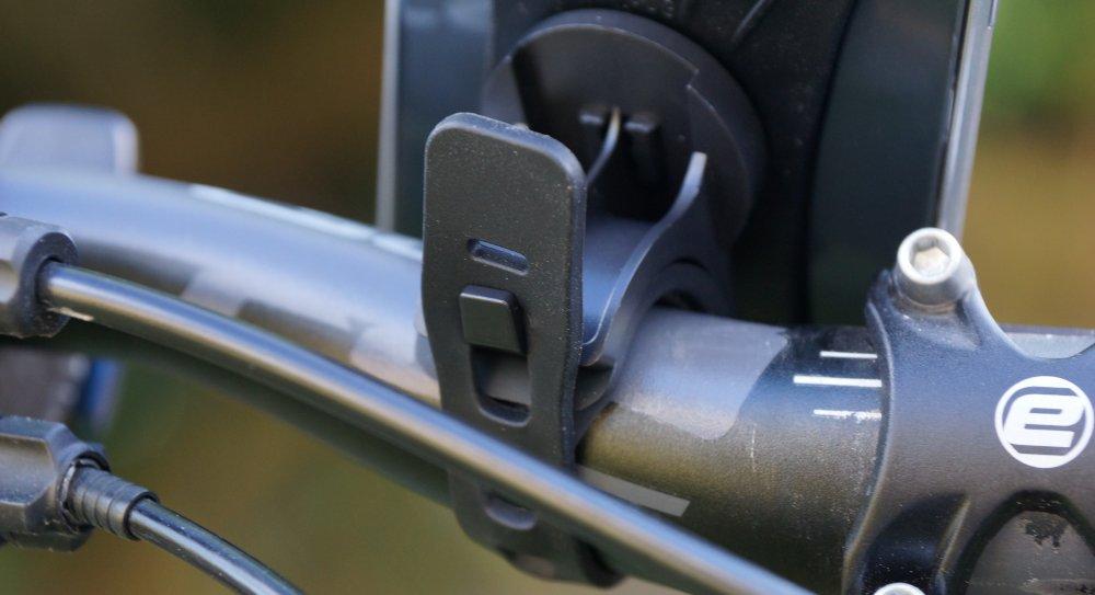 Handyhalter VUP Befestigung am Fahrradlenker