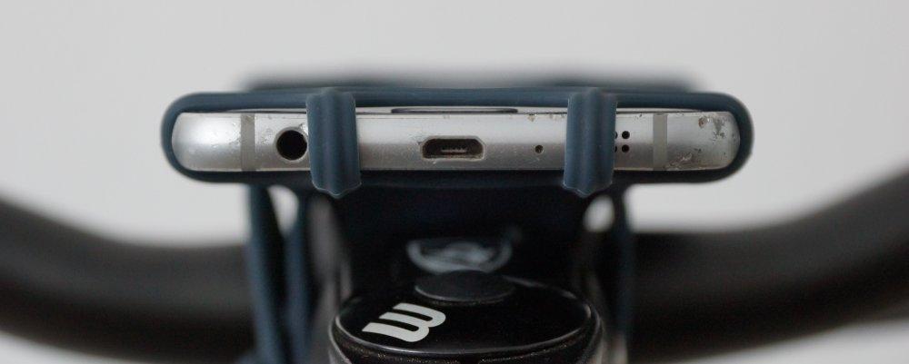 Eingänge und Ausgänge am Smartphone sind frei