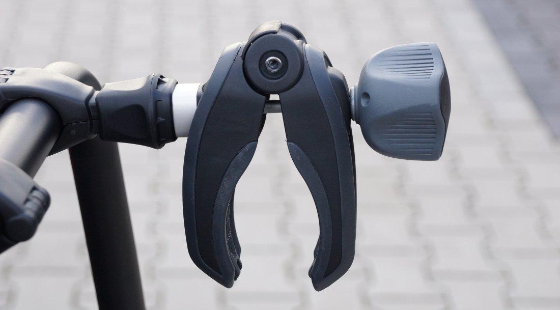 Fahrradhaltearm mit Klemme am VeloCompact von Thule