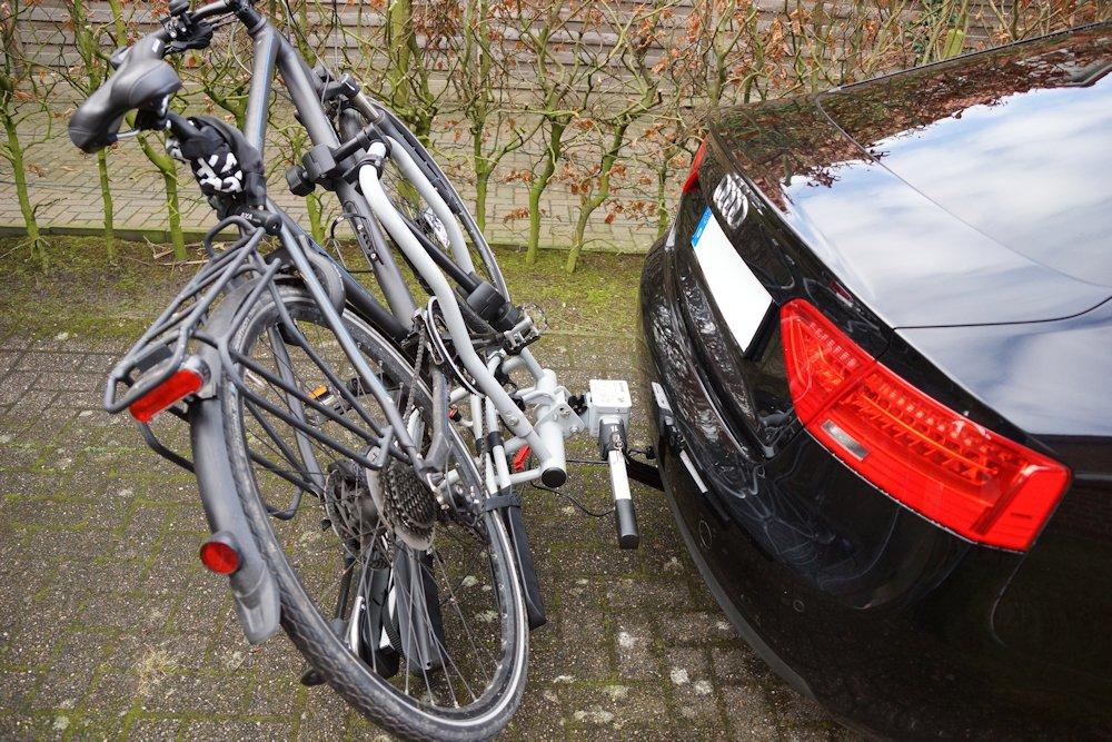 Eufab Fahrradträger abgeklappt