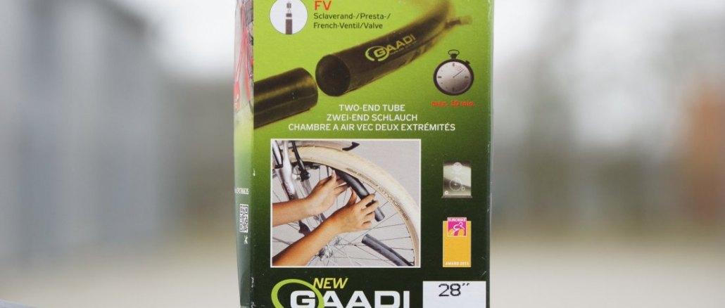 Gaadi Fahrradschlauch mit zwei Enden