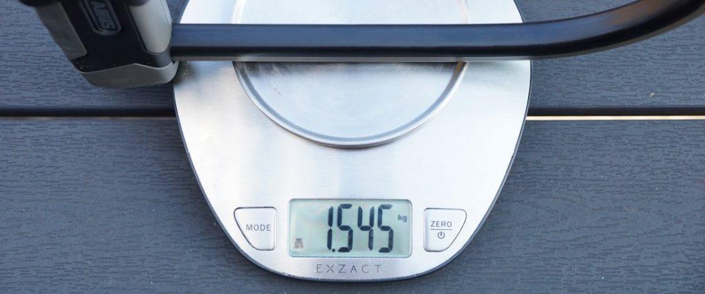 abus x-plus 540 gewicht
