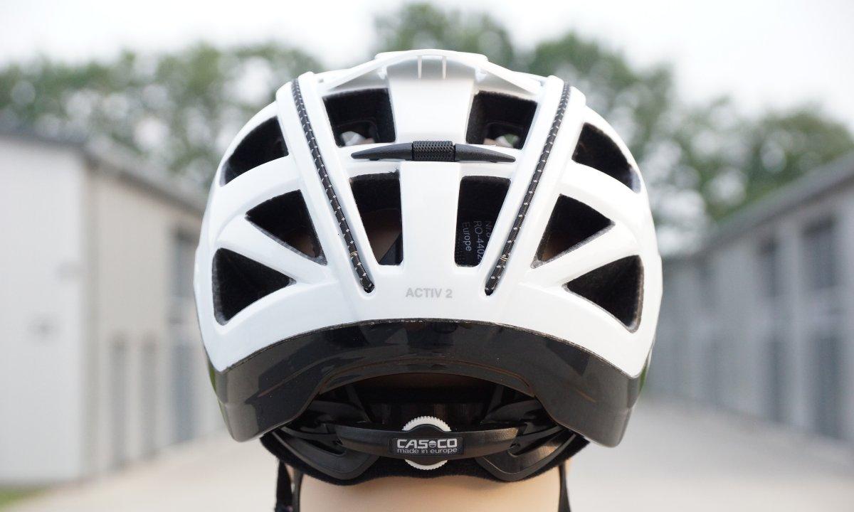 casco active 2 von hinten stellrad