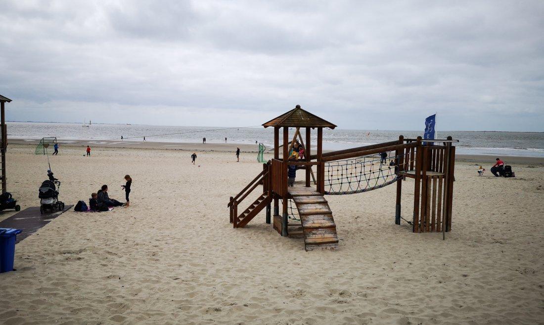 spielplatz am strand von norderney