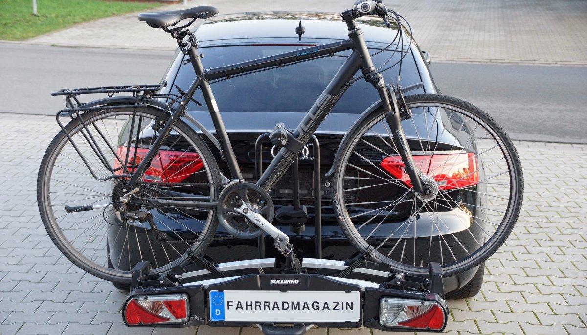 bullwing sr7 fahrradträger