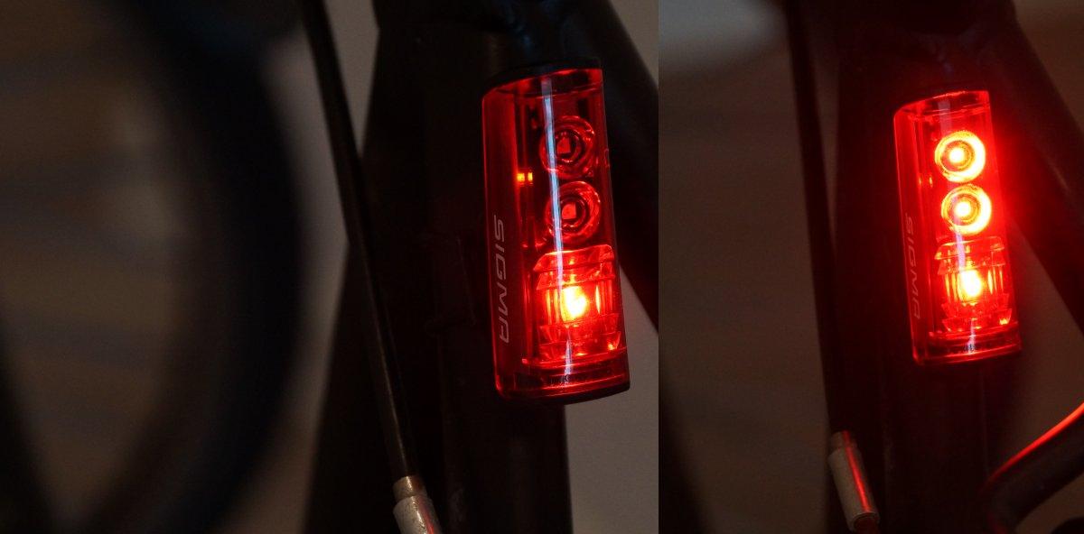 Sigma Blaze Bremslicht