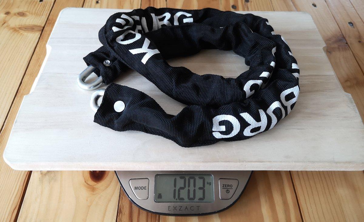 Kohlburg Kettenschloss Gewicht