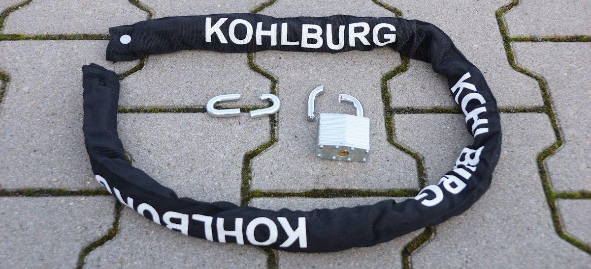 kohlburg kettenschloss geknackt und aufgebrochen