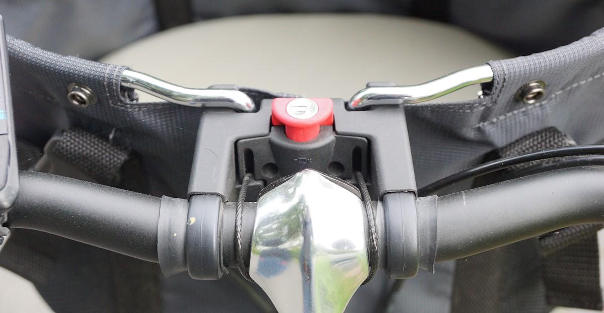 Klickfix am Hundefahrradkorb