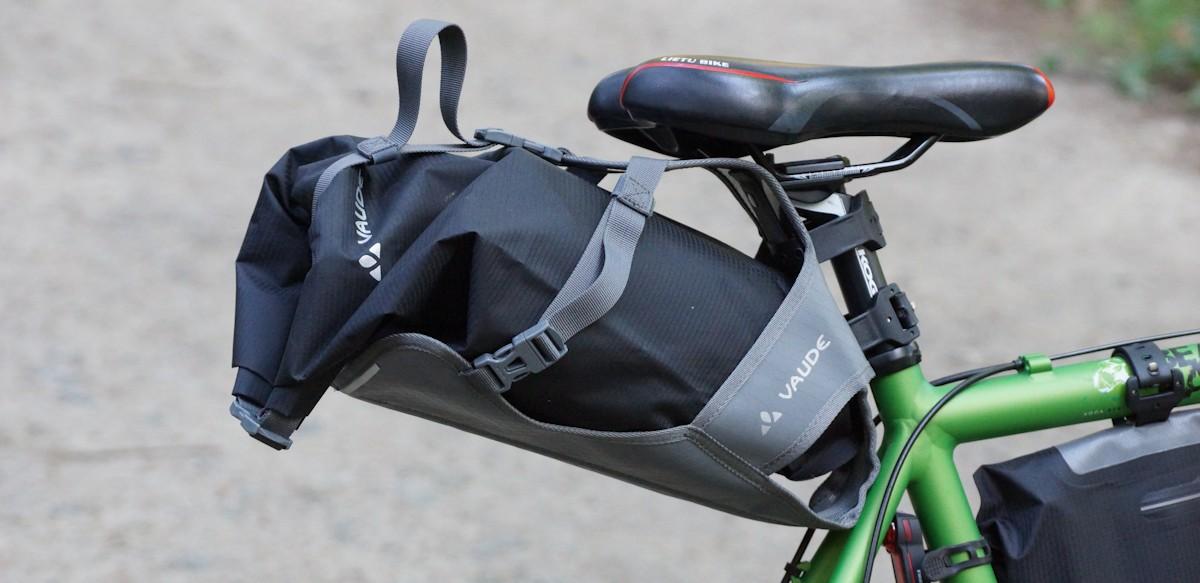 Satteltasche Seatpack fürs Bikepacking
