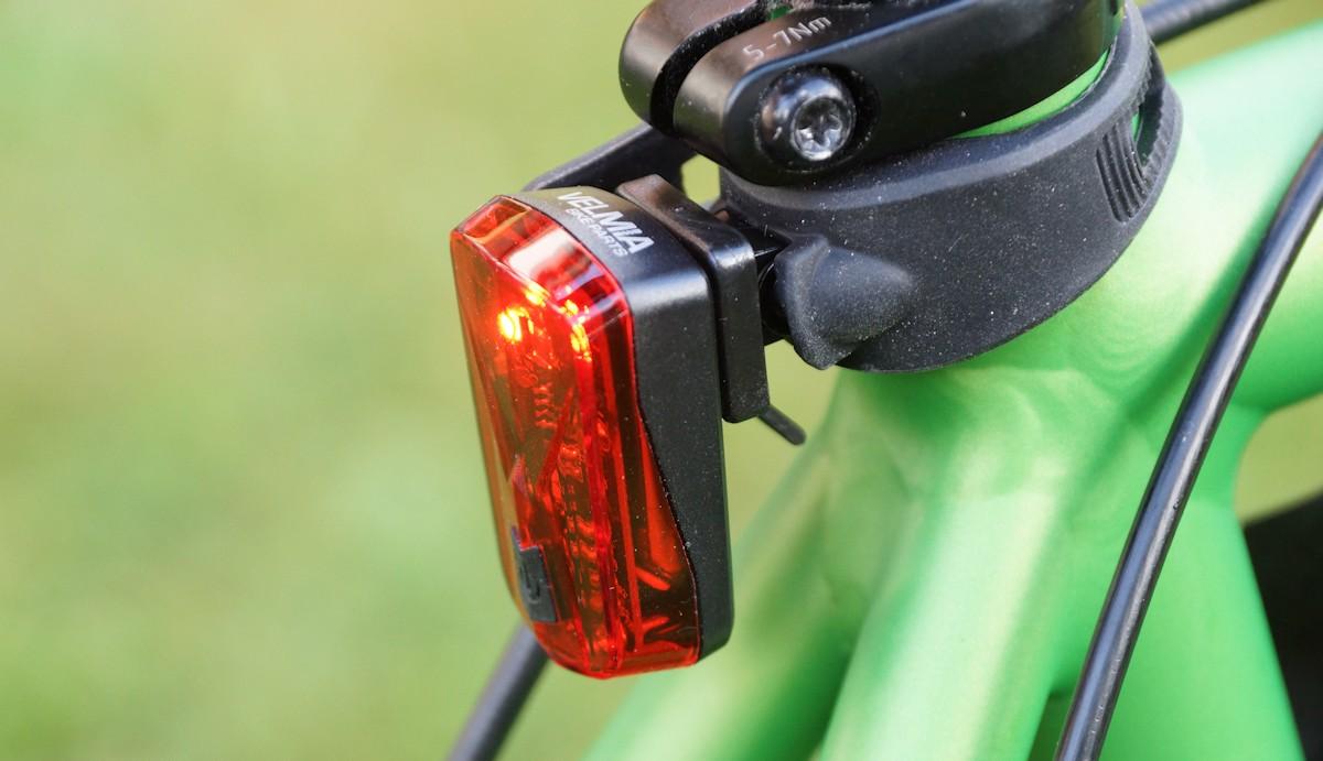 Velmia Fahrradrücklicht