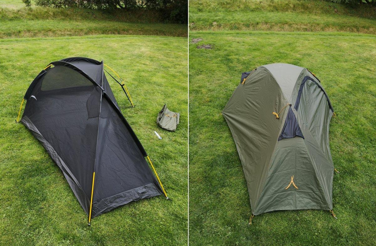 Doppelwandiges Zelt