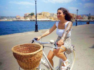 Melissa Damilia Fahrrad