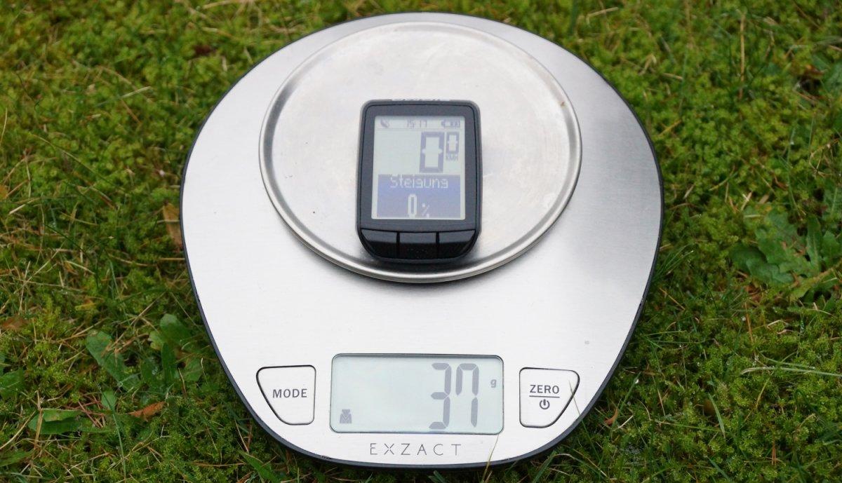 Gewicht Sigma Pure GPS