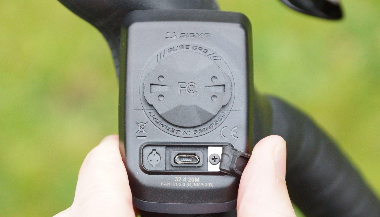 USB Anschluss Sigma Pure