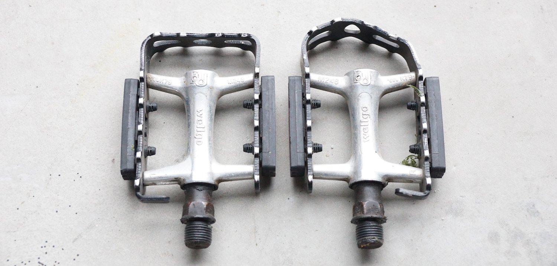 Kaputte und defekte Fahrradpedale