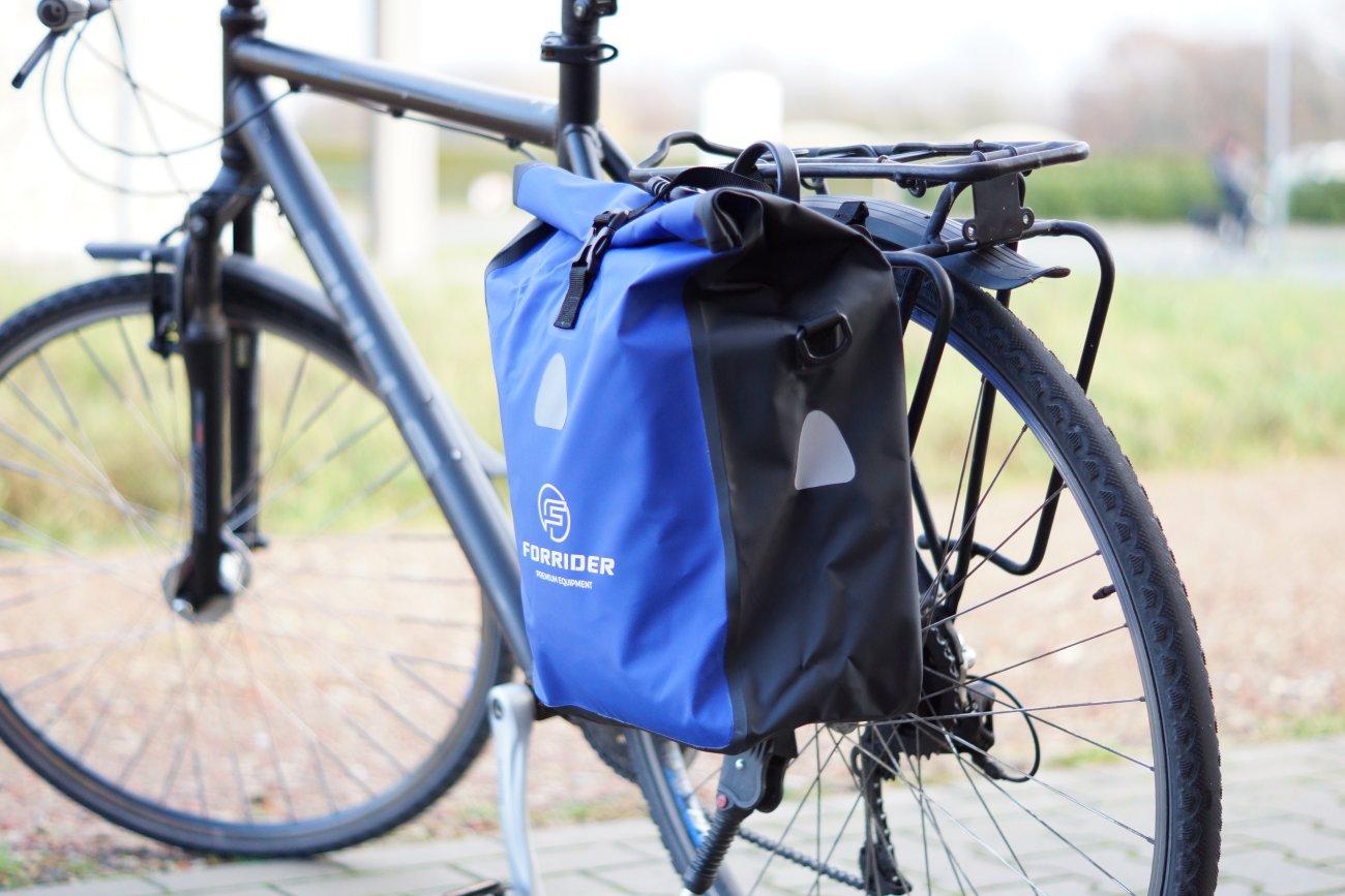 Forrider Fahrradtasche am Gepäckträger