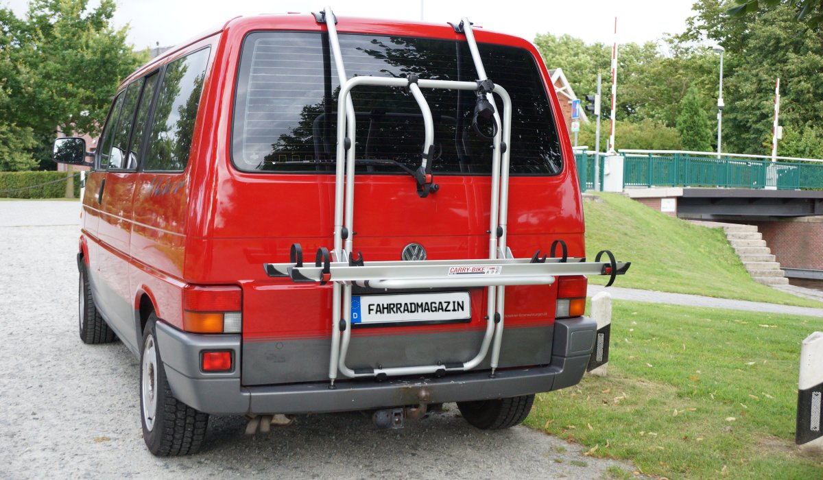 fiamma carry bike Fahrradträger für VW Bus