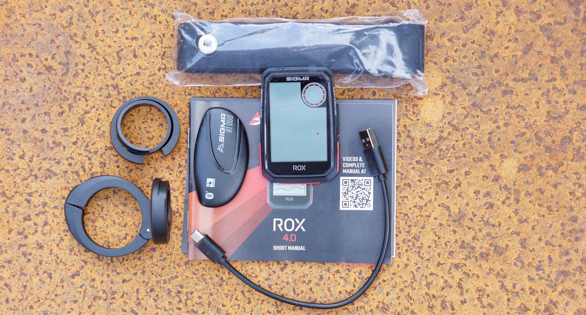Sigma ROX 4.0 HR Set Zubehör