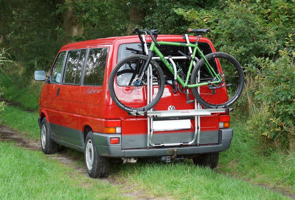Gravelbike Carry Bike breite Reifen
