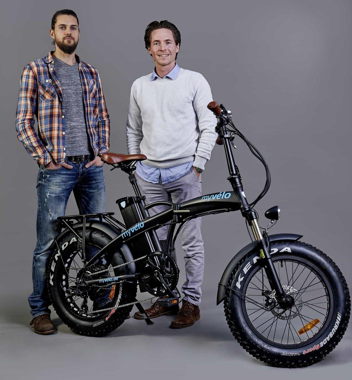 Fabian und Vincent von myvelo